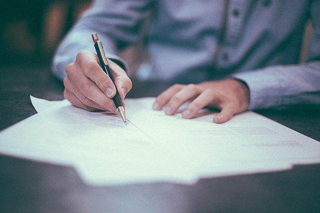 מסמך רשמי שיש לחתום ולאמת על ידי נוטריון